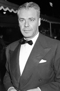Walter Wanger, producer of 'Cleopatra'