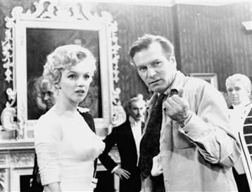 Olivier directs Marilyn