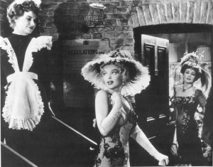 'The Prince and the Showgirl': Jean Kent as Maisie Springfield, at right