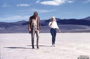John Huston directs Marilyn in 'The Misfts'