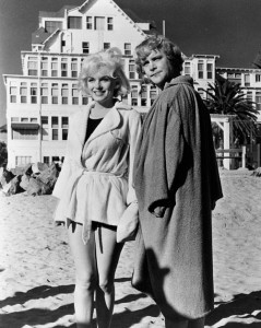 Marilyn with Jack Lemmon in 'Some Like it Hot'