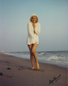 Marilyn at Santa Monica Beach, George Barris, 1962