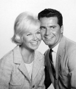 Doris Day and James Garner in 'Move Over Darling'