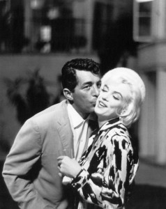 Marilyn with Dean Martin, 'Something's Got to Give'