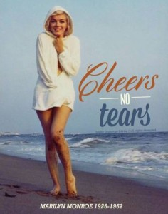 Photo by George Barris, 1962; graphic by Ashlee Davis for Immortal Marilyn