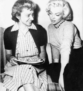 Marilyn and Natasha, circa 1953