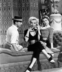 Marilyn gets 'Lazy' with Donald O'Connor and Mitzi Gaynor