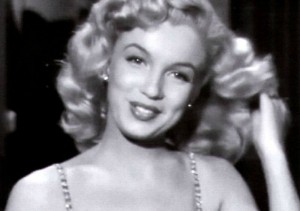 Marilyn sings 'Anyone Can See I Love You' in 'Ladies of the Chorus' (1948)