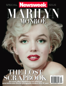 newsweek marilyn-monroes-lost-scrapbook