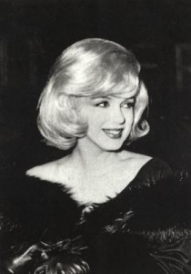 At the 'Misfits' premiere, 1961