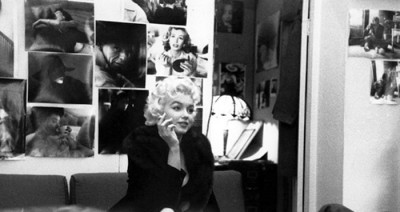 Marilyn at Milton Greene's studio, where she founded her independent production company in 1955