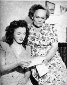 Norma Jeane with Ethel Dougherty
