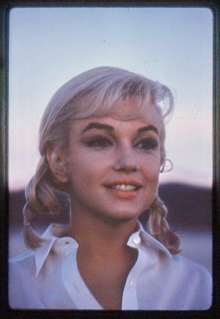 Marilyn during filming of 'The Misfits', 1960 (from the collection of George Zeno)