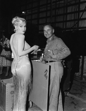 Marilyn celebrates her 34th birthday on the set of 'Let's Make Love' (June 1, 1960)