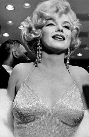 At the Chicago premiere of 'Some Like it Hot', March 1959
