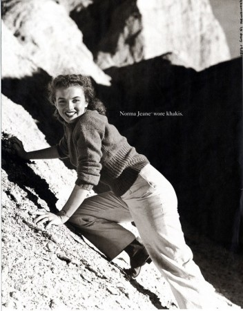 Print ad for The Gap, 1993