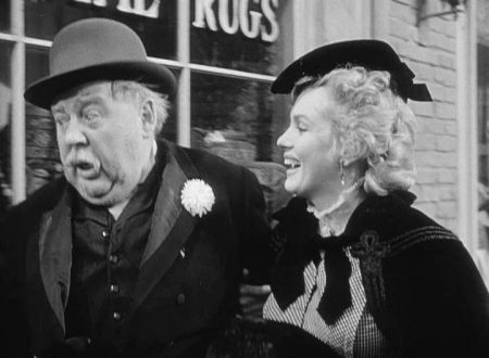 Marilyn and Charles Laughton in 'O. Henry's Full House' (1952)