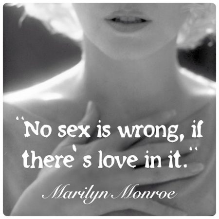 Quote from 'Conversations With Marilyn' by WJ Weatherby