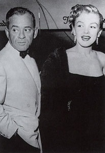 Marilyn with Johnny Hyde (1950)