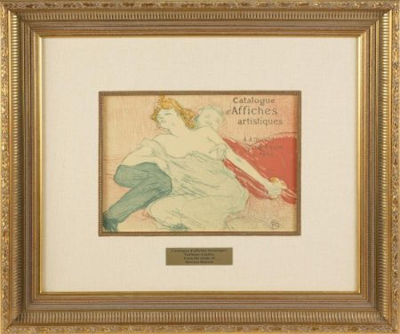 Lithograph owned by Marilyn
