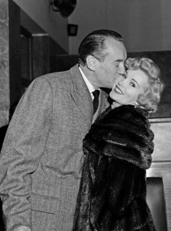 Zsa Zsa with her third husband, George Sanders