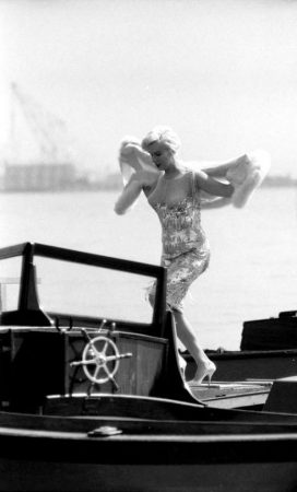 Marilyn filming 'Some Like It Hot'