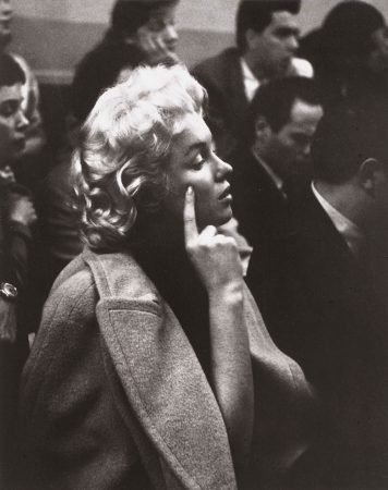 Marilyn at the Actors Studio, 1955 (Photo by Roy Schatt)