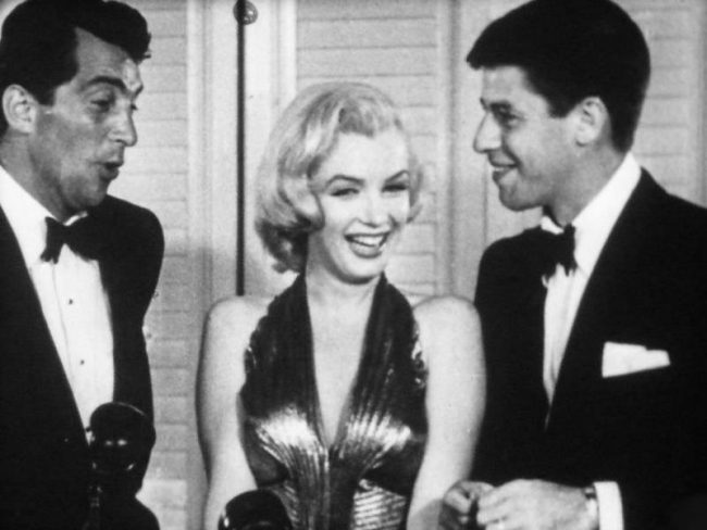 Jerry lewis dean martin marilyn monroe think, that