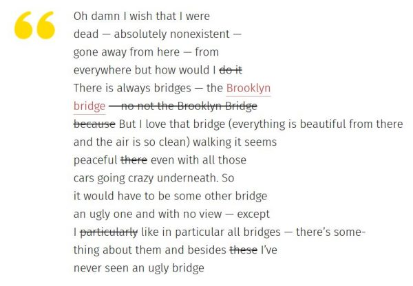 brooklyn bridge poem